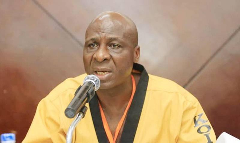 Bamba Cheick Daniel, président sortant de la Fédération ivoirienne de taekwondo. (DR)