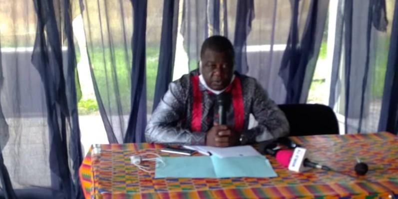 Diaby Issiaka, président du Collectif des victimes de Côte d'Ivoire. (DR)