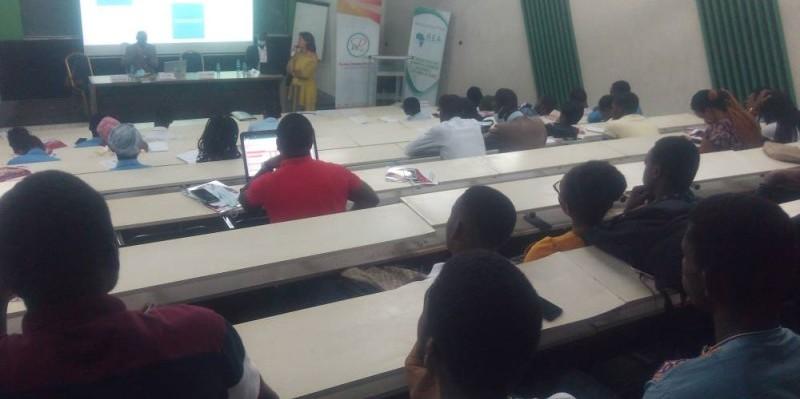 La formation donnée par des experts a rencontré l'adhésion des étudiants. (DR)