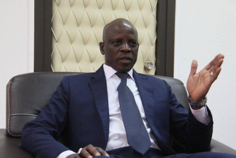Le ministre de l'Enseignement supérieur et de la Recherche scientifique, le Professeur Adama Diawara