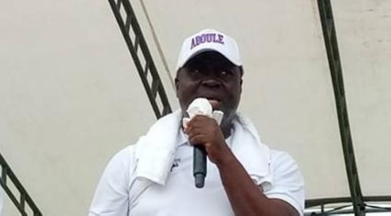 Aboule, candidat Eds-Pdci