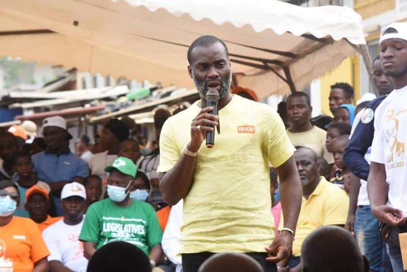 Le candidat du Rhdp, Issouf Doumbia