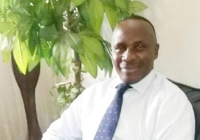 Aboh Faustin, candidat aux élections législatives à Sikensi. (DR)
