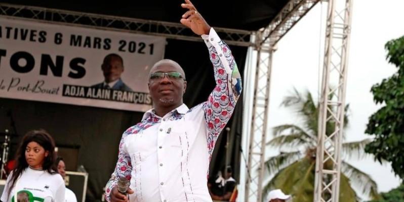Dr Sylvestre Emmou, candidat à Port-Bouët. (DR)