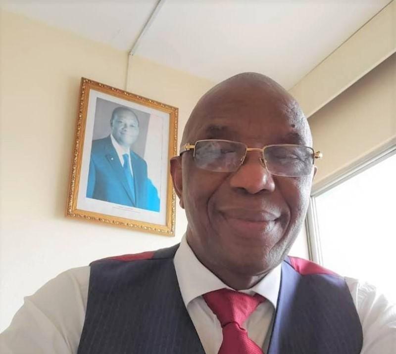 Ibrahima Bakayoko, député sortant de Koro