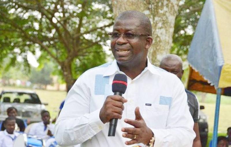Le candidat du Rhdp d'Adiaké, Hien Sié Yacouba, a lancé sa campagne. (DR)