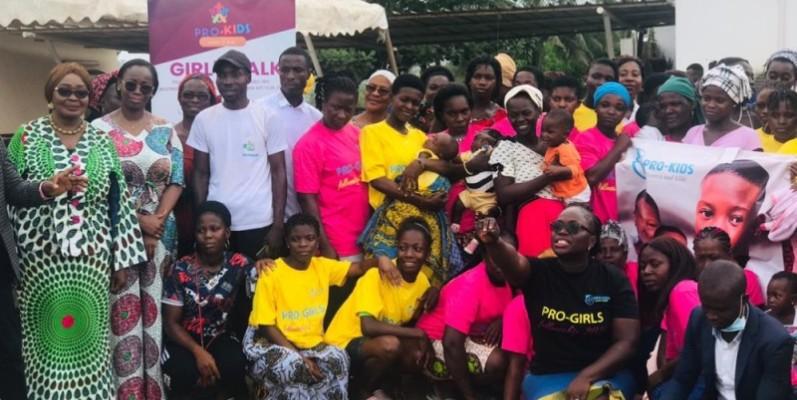 L'Ong Pro-Kids veut redonner le sourire aux filles-mères qui sont livrées à elles-mêmes. (DR)