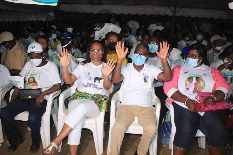 """La liste """"Union pour réconcilier les Ivoiriens"""", conduite par Ouégnin et Kety,"""