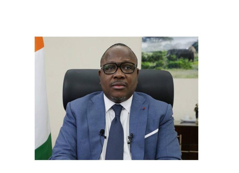 Le président de la CEI, Ibrahime Coulibaly-Kuibiert