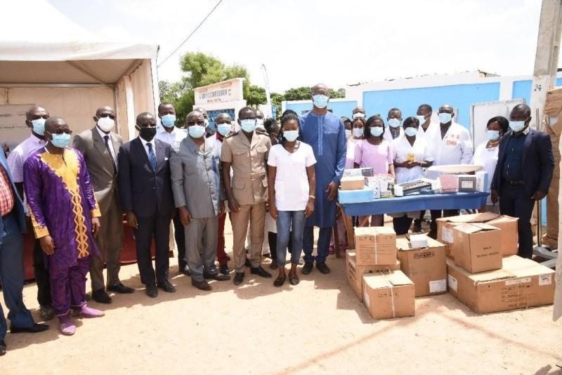 Don de matériels médicaux au Centre de santé urbain de Seguela