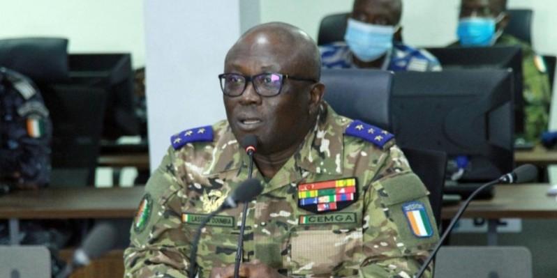 Le général de corps d'armée, Lassina Doumbia, assure que l'armée est mobilisée pour permettre aux populations d'exercer leur droit de vote. (Photo : Sébastien Kouassi)