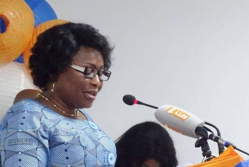 La presidente du CNDH, Namizata Sangaré