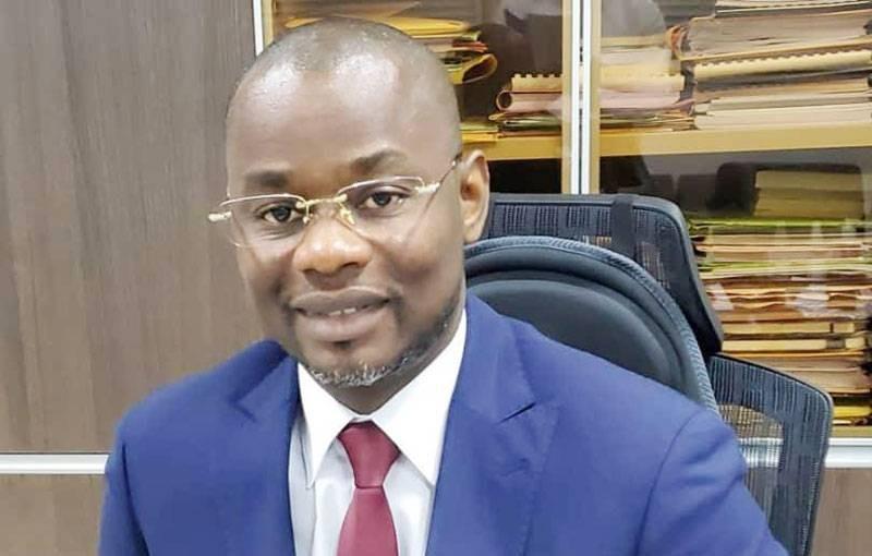 Tebao Saint-Clair, Directeur des affaires administratives et financières de l'Université Félix Houphouët-Boigny de Cocody. (DR)