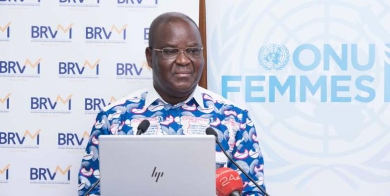 Dr Edoh Kossi Amenounve, directeur général de la Brvm et du DC/BR. (DR)