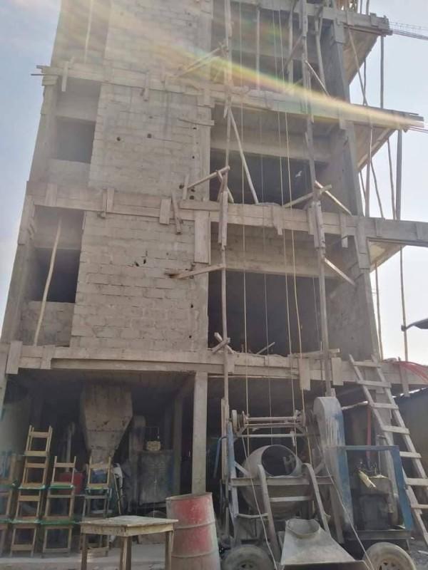 L'immeuble écroulé dans son aspect initial. (DR)