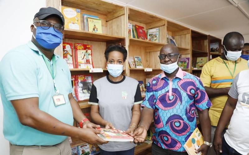 La Saph a réceptionné une bibliothèque équipée. (DR)