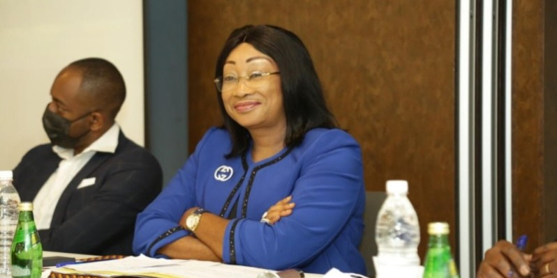 Patricia Claude Kalou, présidente de la Conférence des producteurs audiovisuels de Côte d'Ivoire (Cpaci), initiatrice de la Nisa. (Photo : DR)