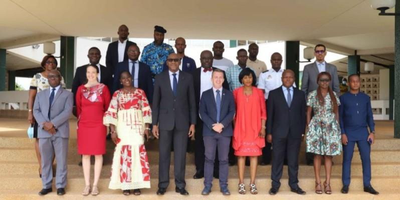 Les participants au stage sont issus de 12 Etats du Golfe de Guinée. (DR)