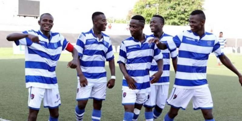 Le Racing club d'Abidjan, le champion en titre, effectuera son entrée dans la compétition contre l'As Tanda. (DR)