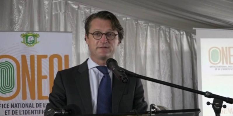 Hadrien Maillard, chef d'équipe Gouvernance, Démocratie et Emploi de l'Union européenne (Ue). (N. Célestin)