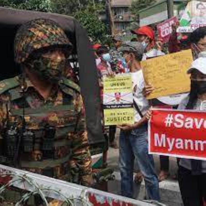 Situation en Birmanie