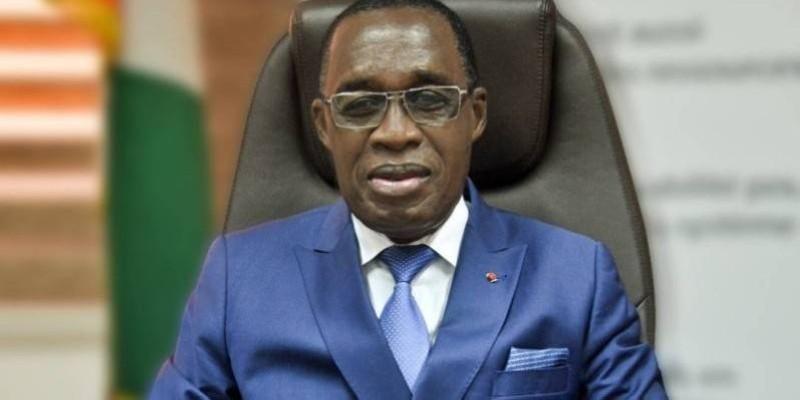 Dr Eugène Aka Aouélé passe de ministre à président d'institution. (Photo : DR)