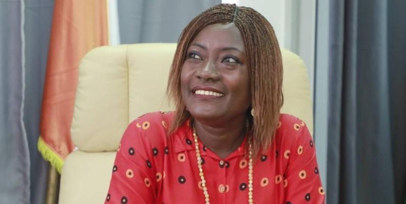 Mariatou Koné, nouveau ministre de l'Education nationale et de l'Alphabétisation. (DR)