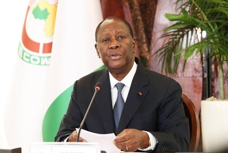 Alassane Ouattara, Président de la République de Côte d'Ivoire. (DR)