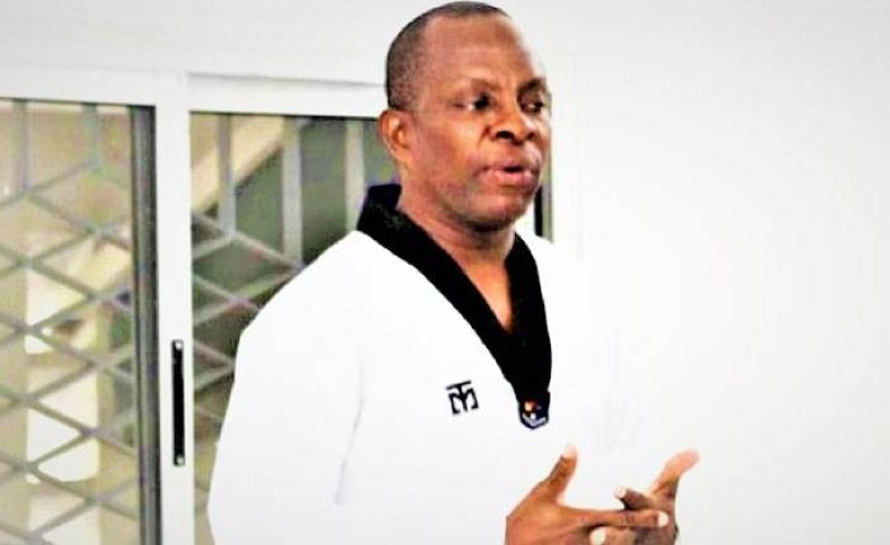 Le secrétaire général de la Fédération ivoirienne de taekwondo, Me Anzoumana Siaka alias Me Anz. (Photo : DR)
