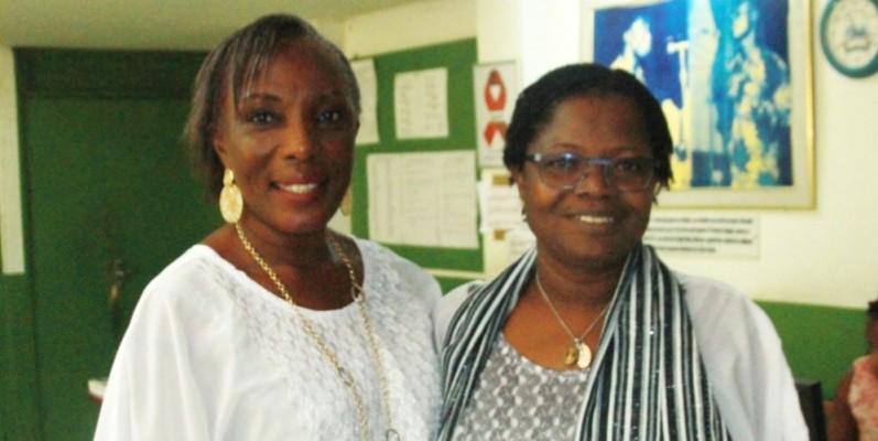 Brigitte Guirathé (à gauche) et Germaine Boni seront honorées. (Photo : DR)