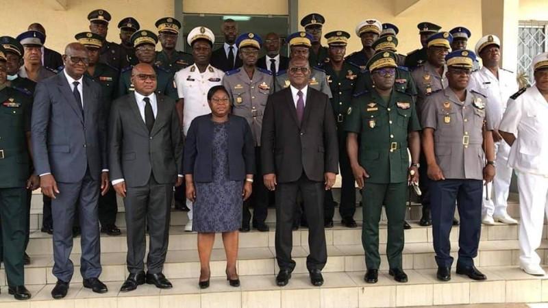 Le ministre Téné Birahima Ouattara  a pris fonction