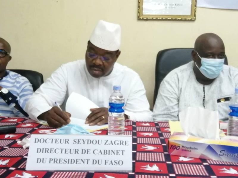 Dr Seydou Zagré, directer de cabinet du Président du Faso