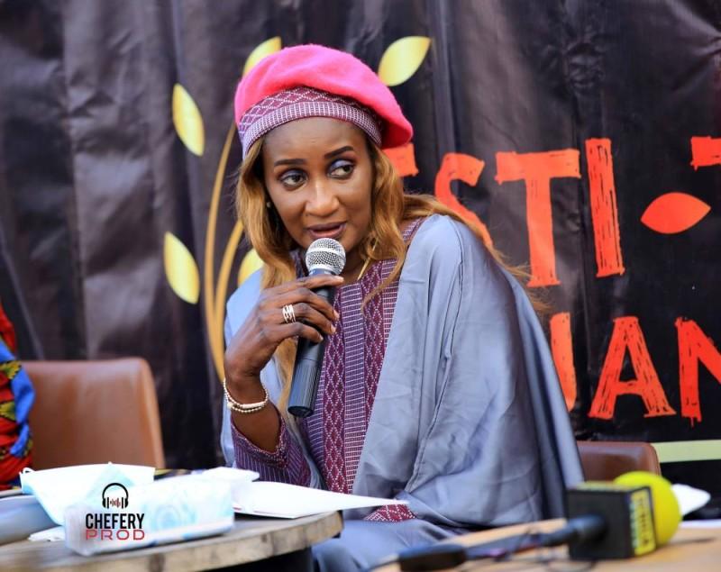 Adja Soda, attend créer l'intégration culturelle ouest-africaine autour du Tchep (DR)