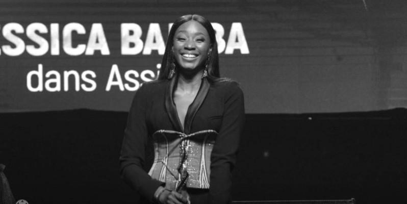 Jessica Bamba, Prix du meilleur espoir pour son rôle dans la série «Assinie».