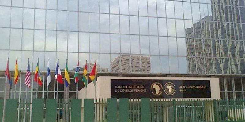 Le siège de la Bad à Abidjan. (Photo : DR)