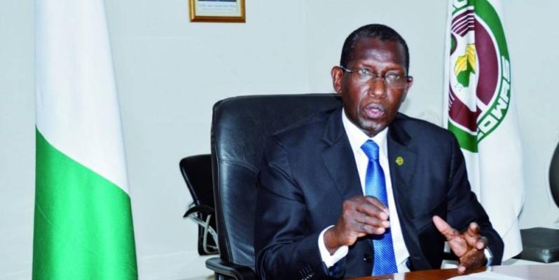 Le Représentant résident de la Cedeao, l'ambassadeur Babacar Carlos Mbaye. (Photo : Julien Monsan)