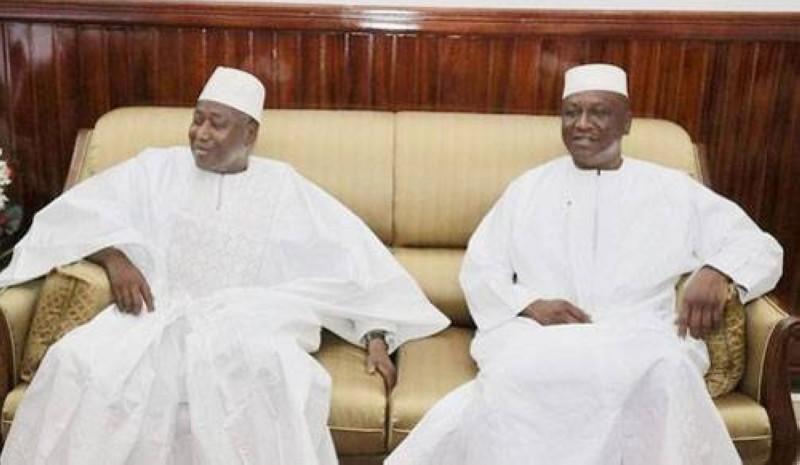Alter égos, travailleurs acharnés, loyaux et fidèles, les deux grands serviteurs de la Nation et du chef de l'État ont tiré le rideau. (Photo : DR)