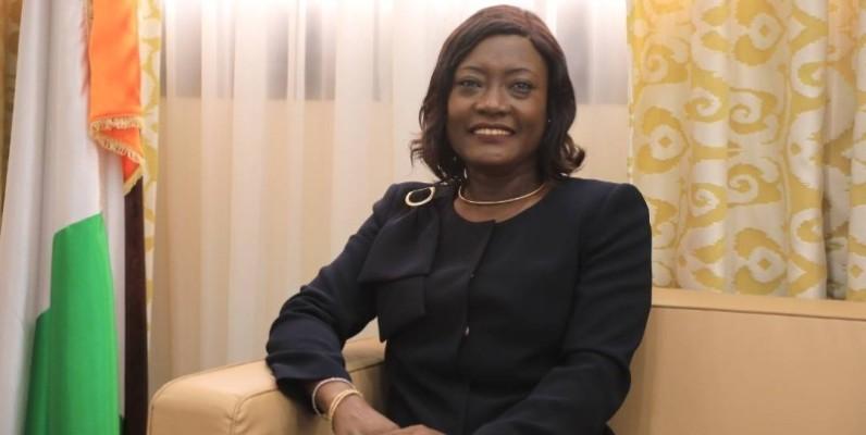 La ministre de l'Education nationale et de l'Alphabétisation, Mariatou Koné. (DR)