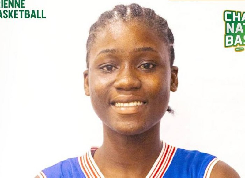 Ange-Laetitia Akéssé Sahié du National centre de basket-ball d'Abidjan. (DR)