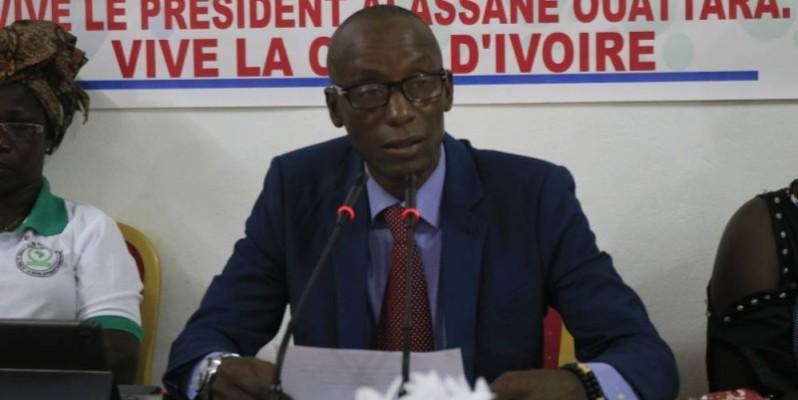 Max Bertrand Gnotoa, président de l'Ong Asopade. (Bavane)