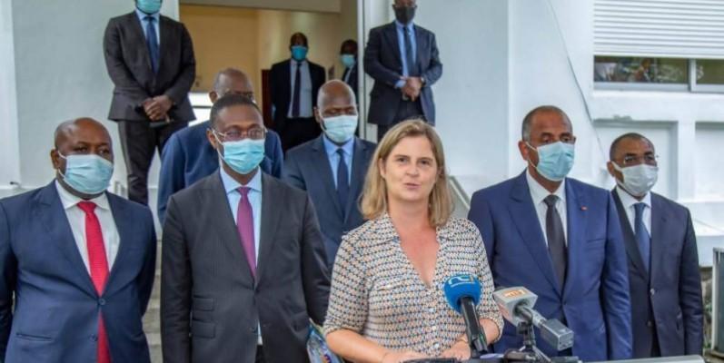 La directrice des Opérations de la Banque mondiale pour la Côte d'Ivoire, Coralie Gevers veut accompagner le pays dans l'atteinte de ses objectifs. (DR)