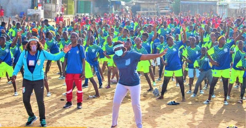 Les jeunes randonneurs du zanzan s'organisent pour mieux participer aux activités de la Firape. (DR)