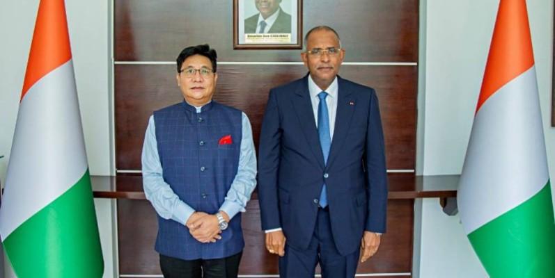 L'Inde va renforcer sa coopération économique avec la Côte d'Ivoire, indique l'ambassadeur Sailas Thangal. (DR)