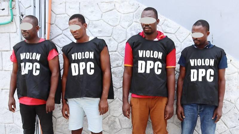 Le gang dirigé par Saré Yacouba et spécialisé dans le vol des entreprises. (Photo : DGPN)