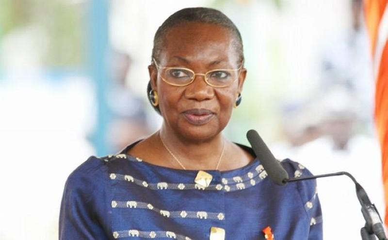 La Grande Chancelière, Henriette Dagri Diabaté, est la marraine de la cérémonie. (Photo : DR)