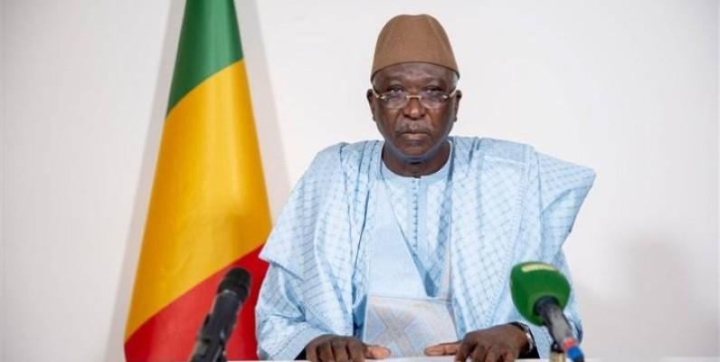 Le président de la transition malienne Bah NDAW