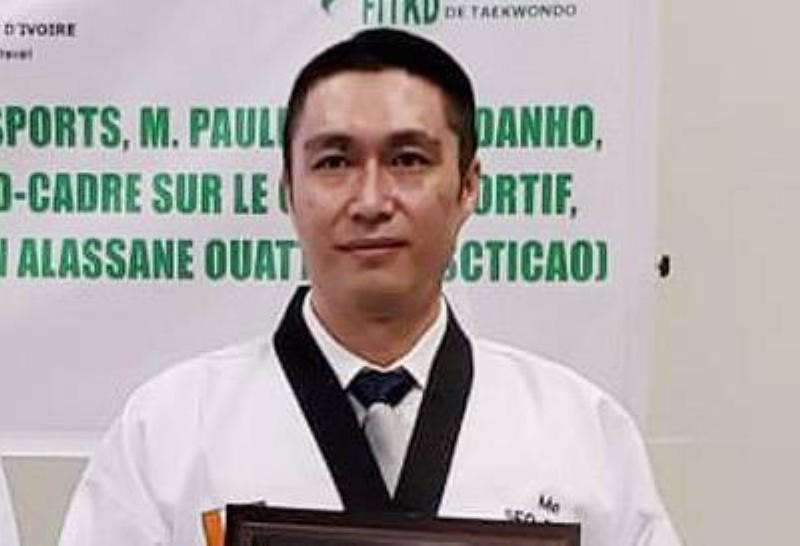 Le directeur pays de l'Agence coréenne de coopération international (Koica), M. Seo Dongsung. (DR)