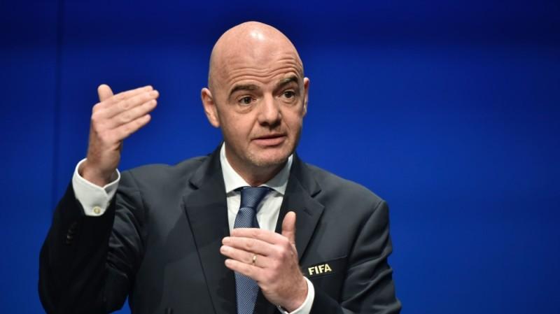 Gianni Infantino, président de la Fifa, a pris position pour l'Uefa. (DR)