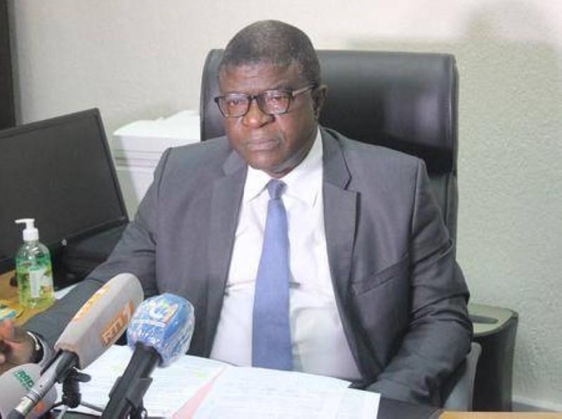 Professeur Méké Meité,président de l'université de San Pedro PH DR