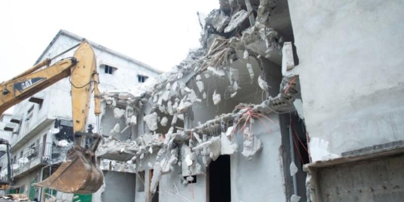 La brigade du Mclu entend poursuivre ce genre d'opération pour assainir l'habitat urbain. (Dr)